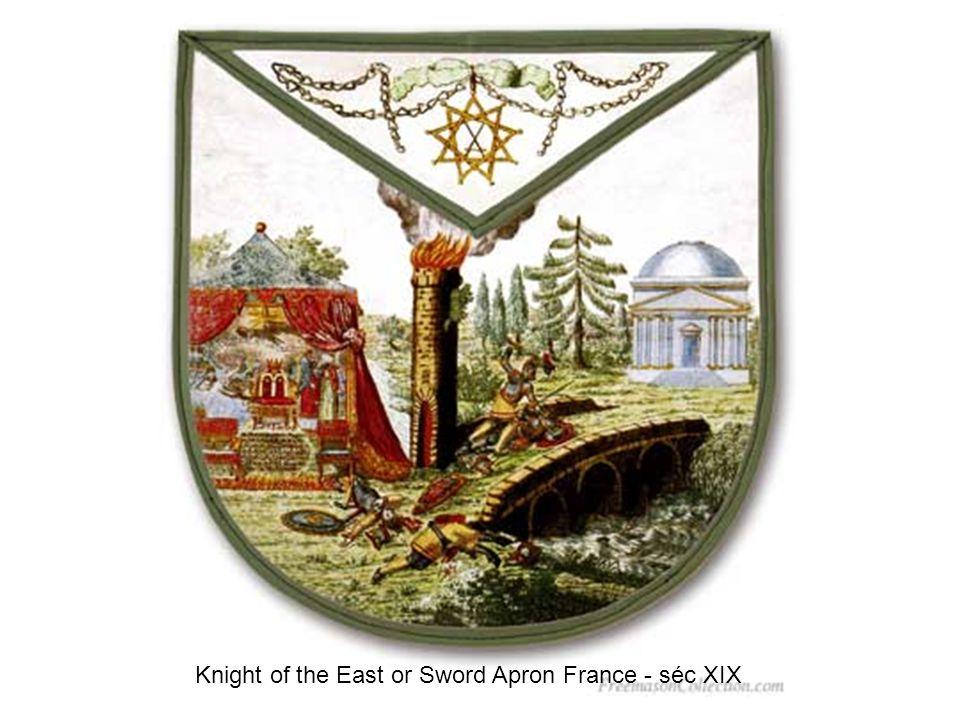 Master Apron acacia France - séc XIX