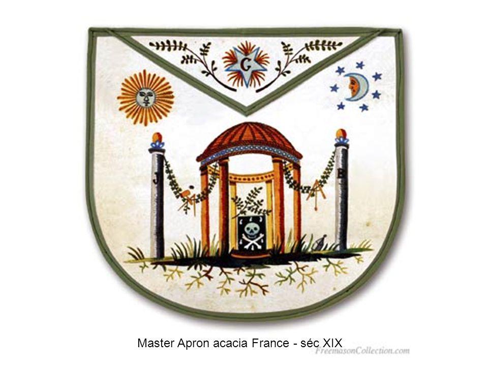 Master Apron mosaic France - séc XIX