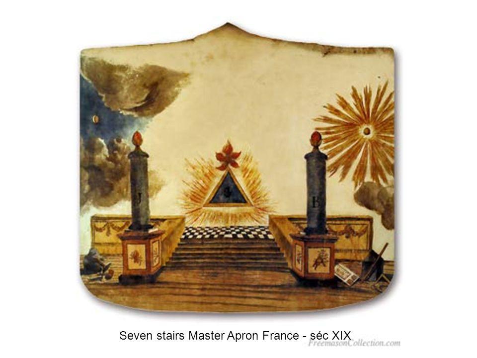 Sublime Prince of the Royal Secret Apron 1850