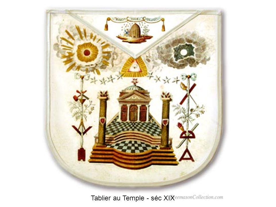 The 3 Virtues Apron England - séc XVIII