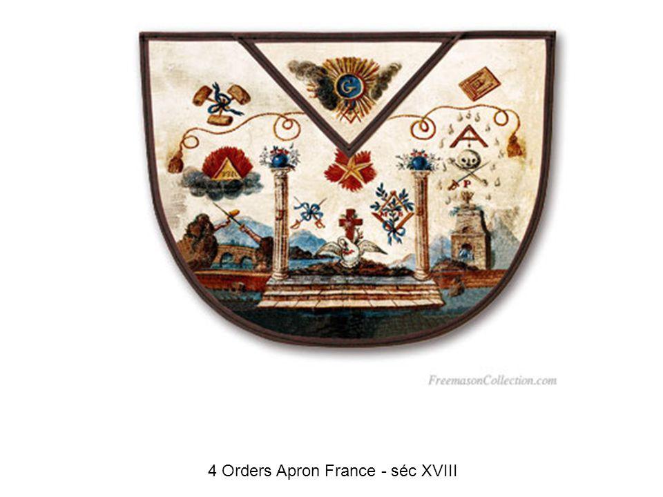 Chevalier d Orient Apron France 1780