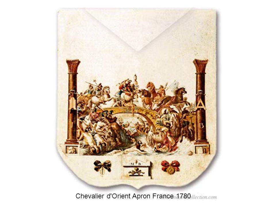 Egyptophilic Master s Apron France - séc XIX