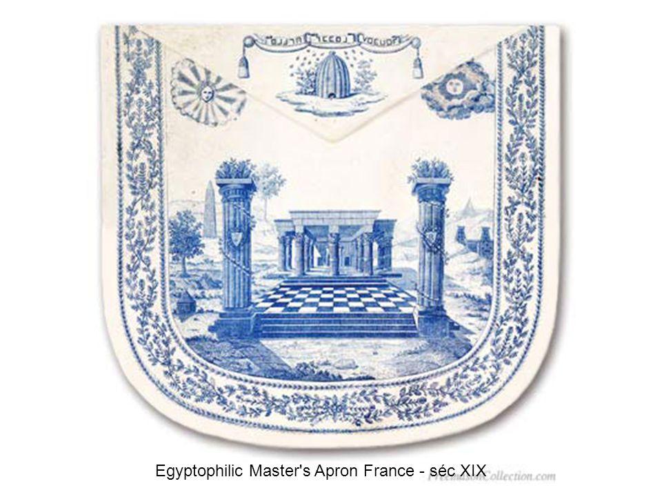 Female Apron from loge d adoption France - séc XIX