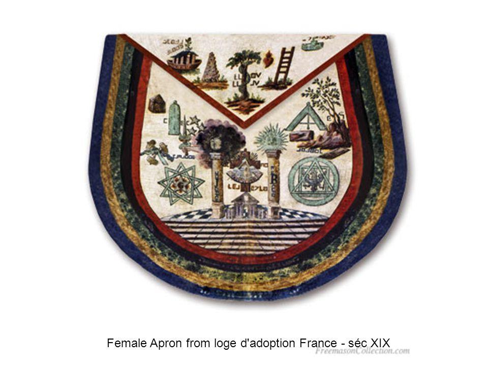 French Master s Apron France - séc XIX