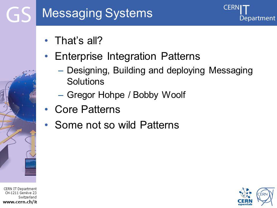 CERN IT Department CH-1211 Genève 23 Switzerland www.cern.ch/i t Internet Services MSG: performance Throughput testing