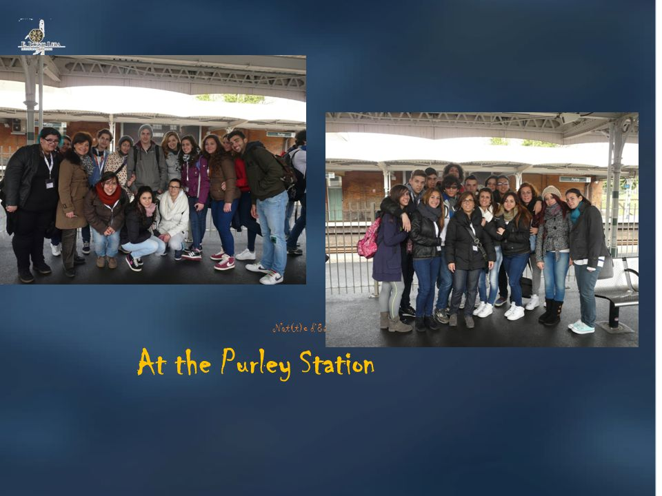 At the Purley Station Not(t)e d'Estate al Boggio Lera