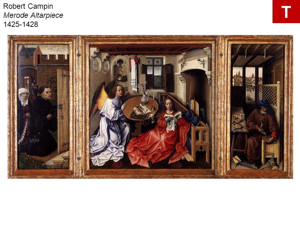 Robert Campin Merode Altarpiece 1425-1428 T