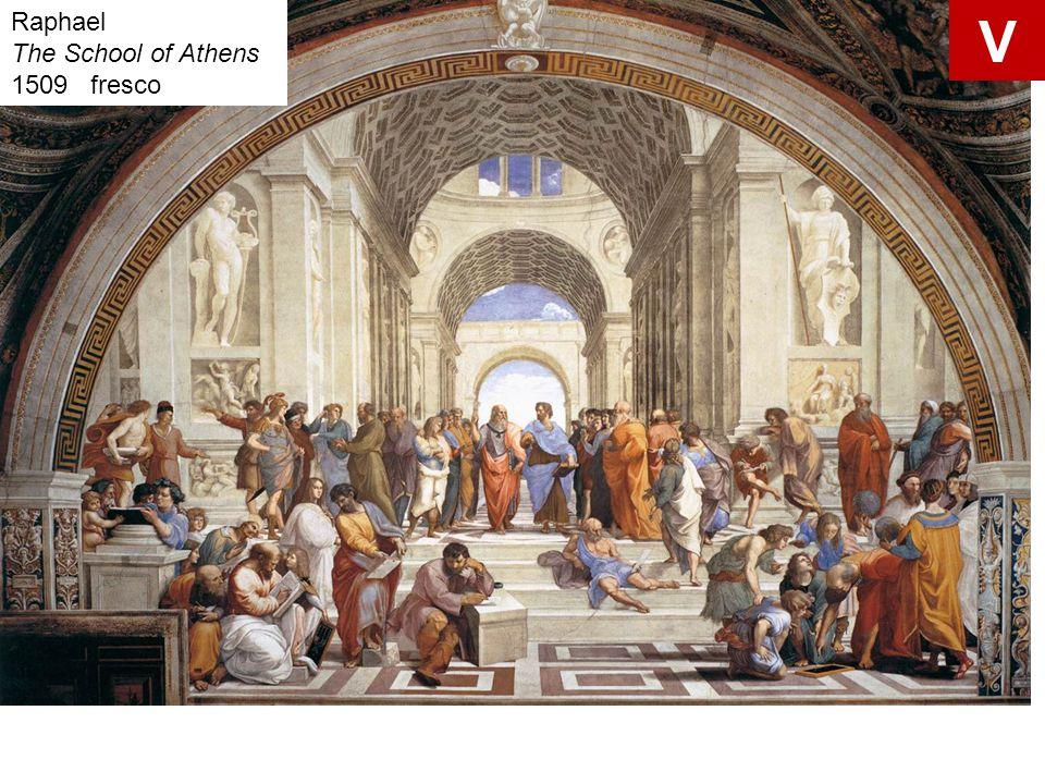 Raphael The School of Athens 1509 fresco V