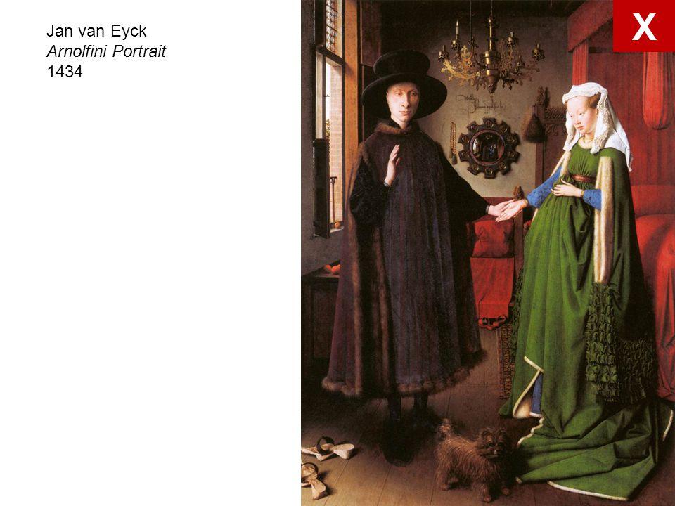 Jan van Eyck Arnolfini Portrait 1434 X