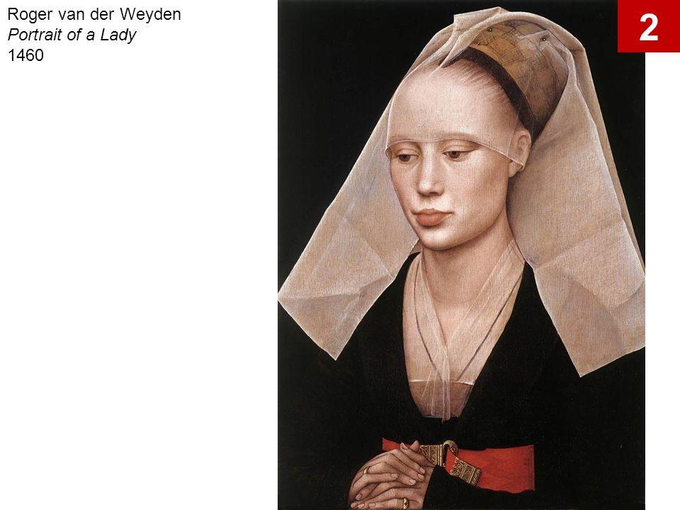Roger van der Weyden Portrait of a Lady 1460 2
