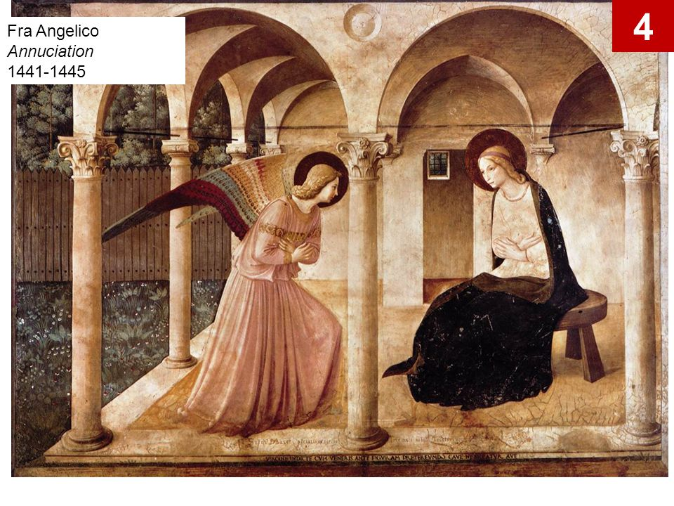 Fra Angelico Annuciation 1441-1445 4