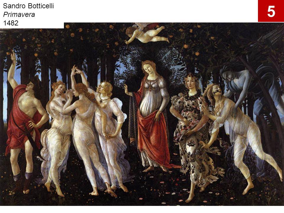 Sandro Botticelli Primavera 1482 5