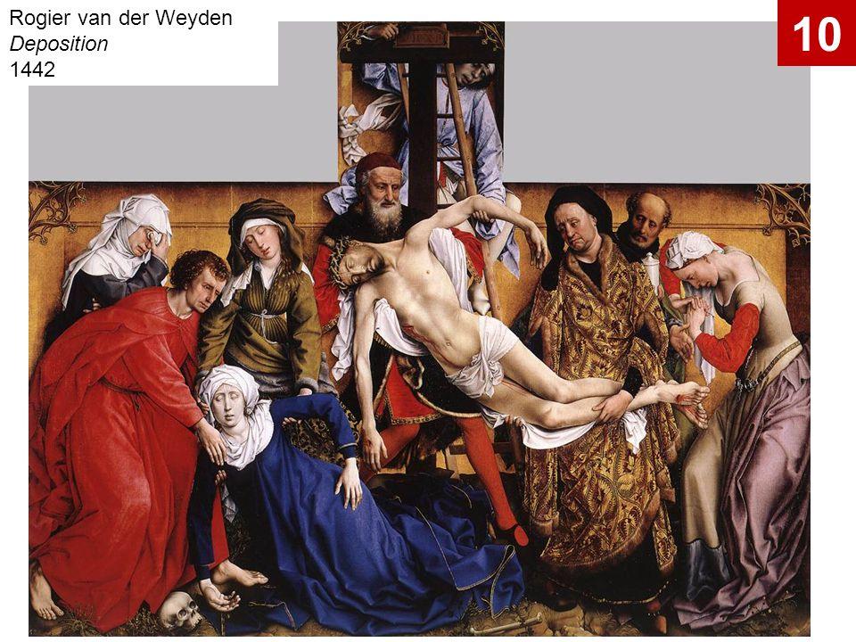 Rogier van der Weyden Deposition 1442 10