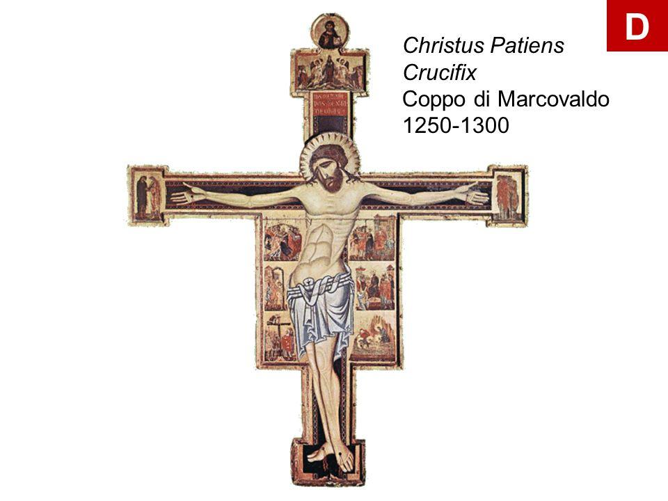 Christus Patiens Crucifix Coppo di Marcovaldo 1250-1300 D