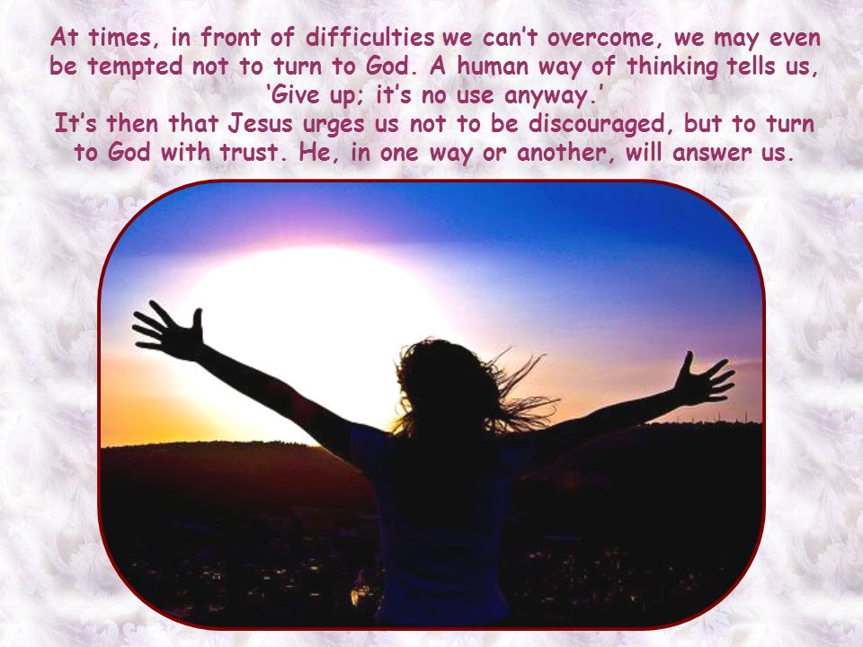 This expression can be applied, furthermore, to all circumstances in life, as long as they are about the progress of the Gospel and the salvation of p