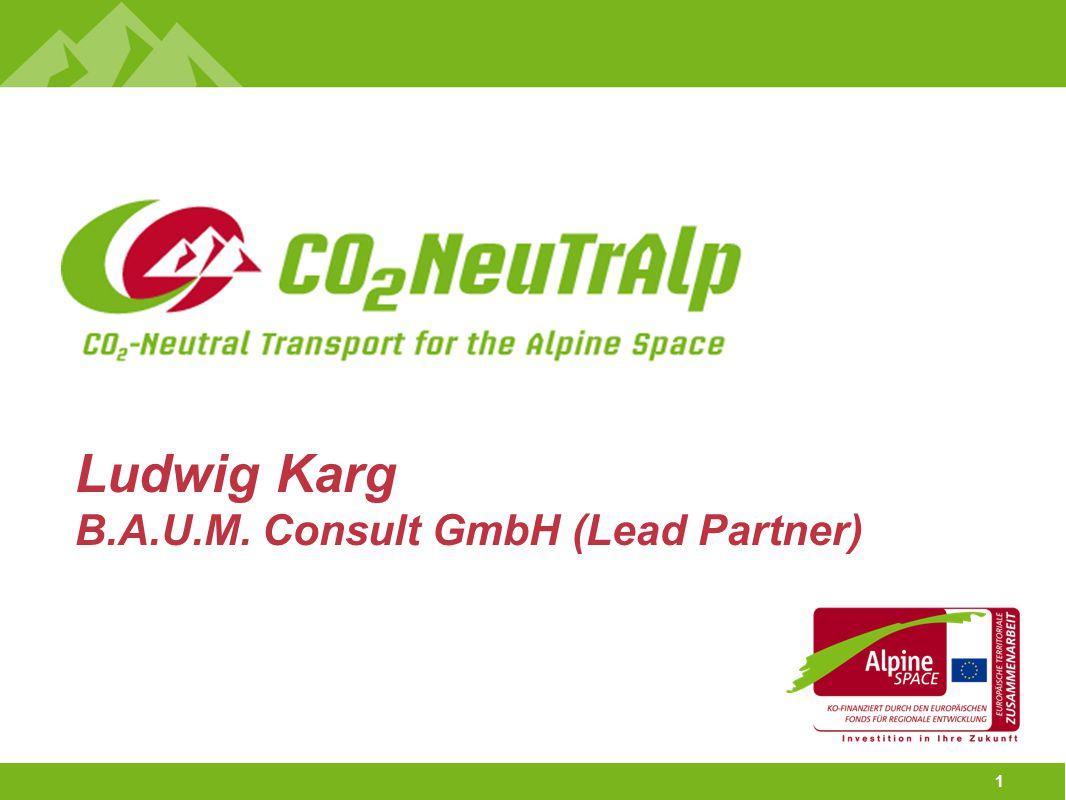 1 Ludwig Karg B.A.U.M. Consult GmbH (Lead Partner)