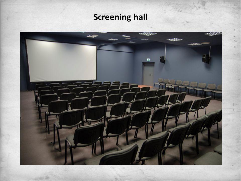 Screening hall