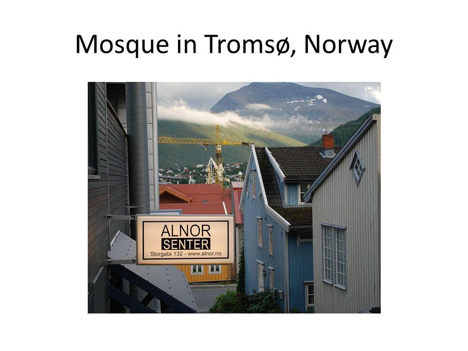 Mosque in Tromsø, Norway