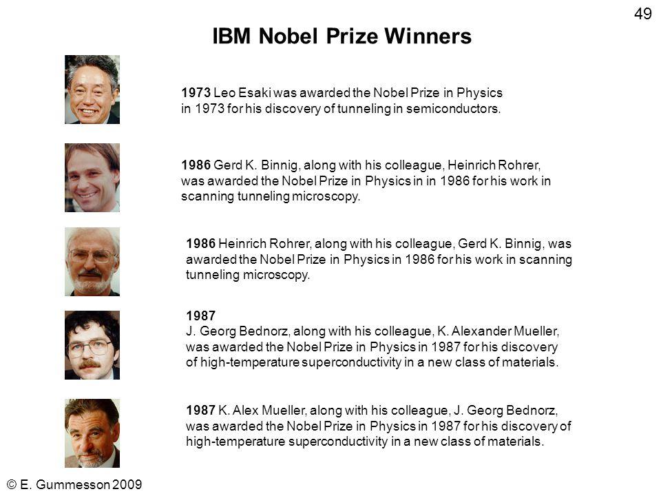 © E. Gummesson 2009 48 T. J. Watson, Jr., President of IBM 1952-1971 RE-THINK
