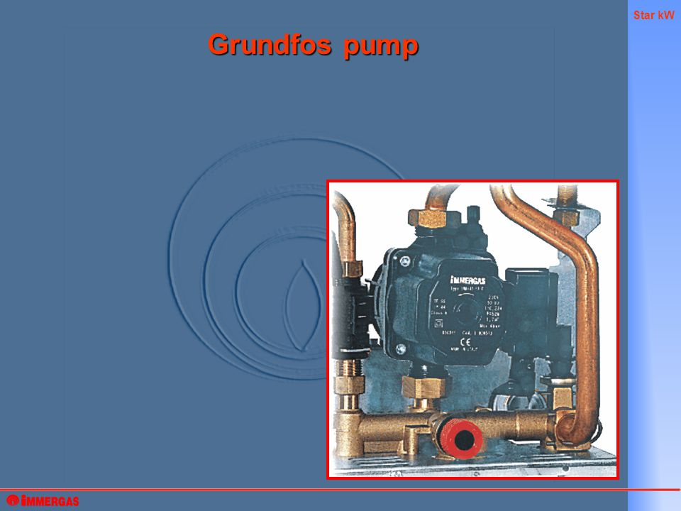 Star kW Grundfos pump