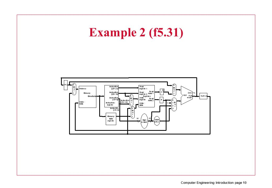Computer Engineering Introduction page 10 Example 2 (f5.31)