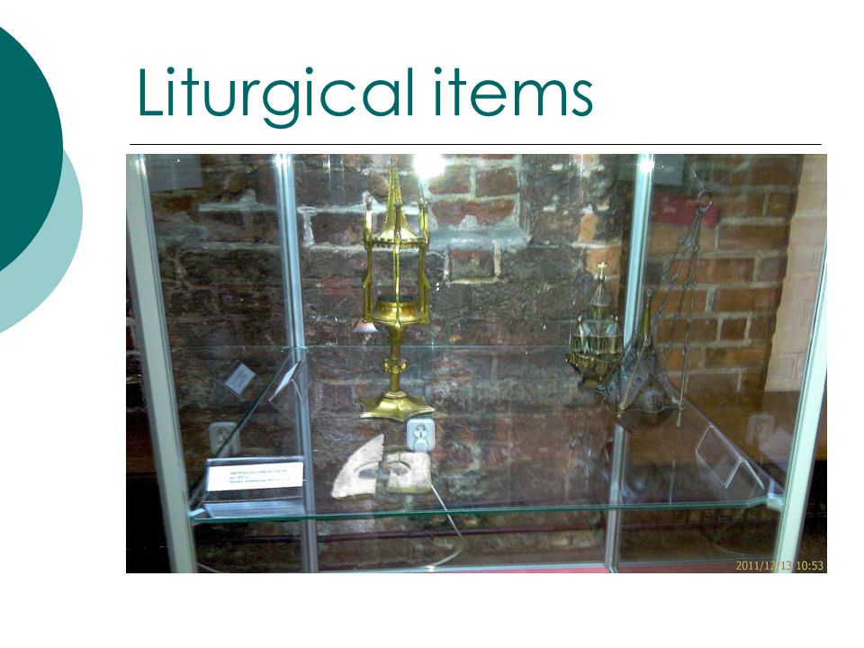 Liturgical items