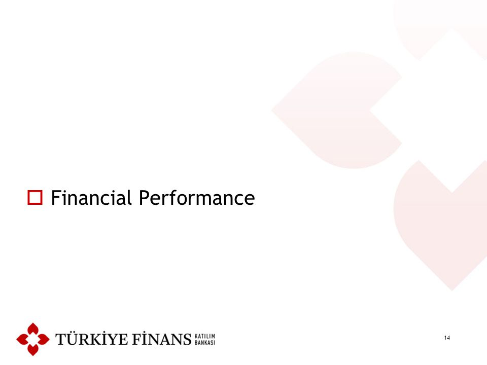14  Financial Performance