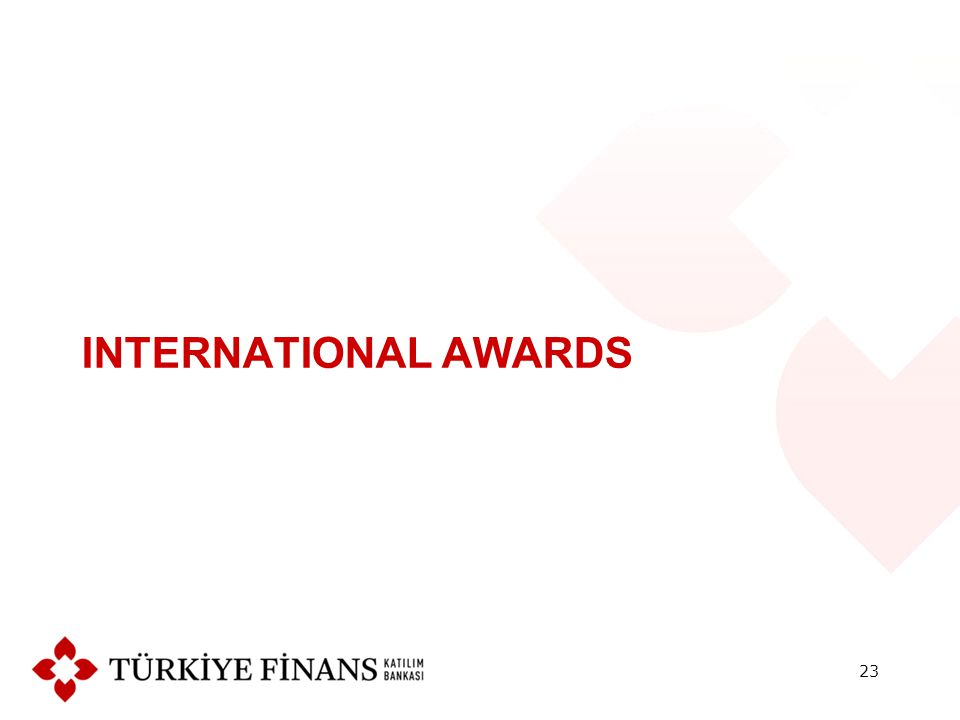 INTERNATIONAL AWARDS 23