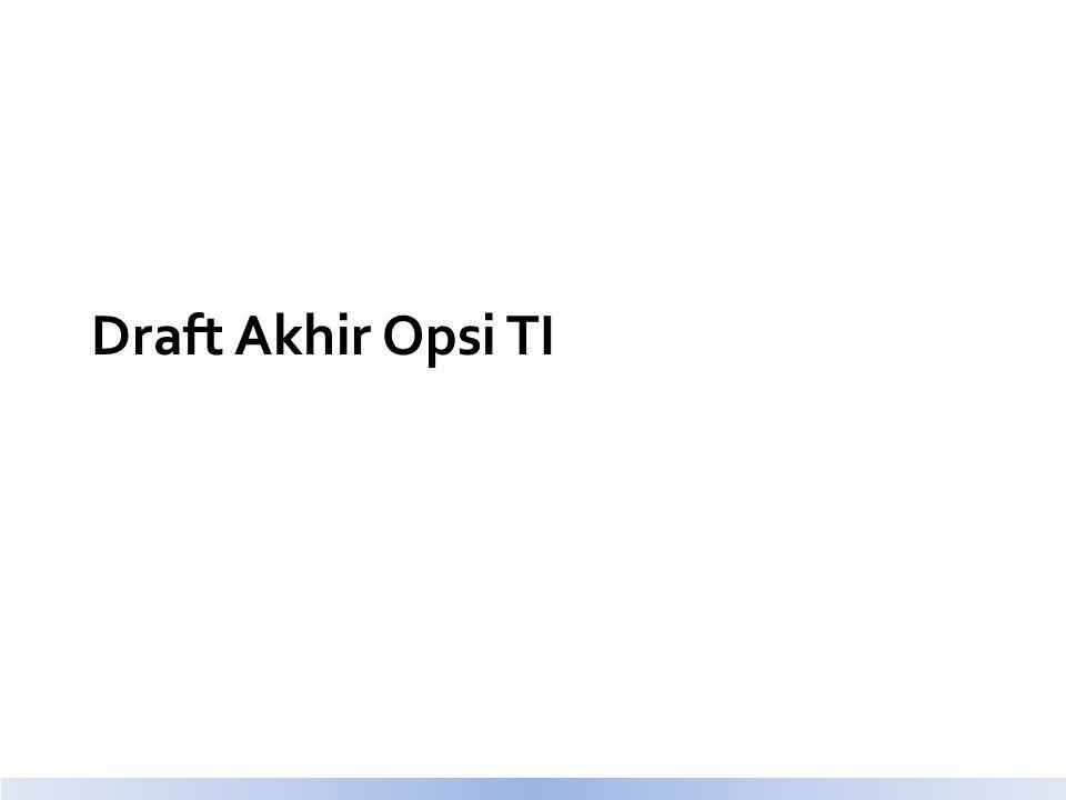 Draft Akhir Opsi TI
