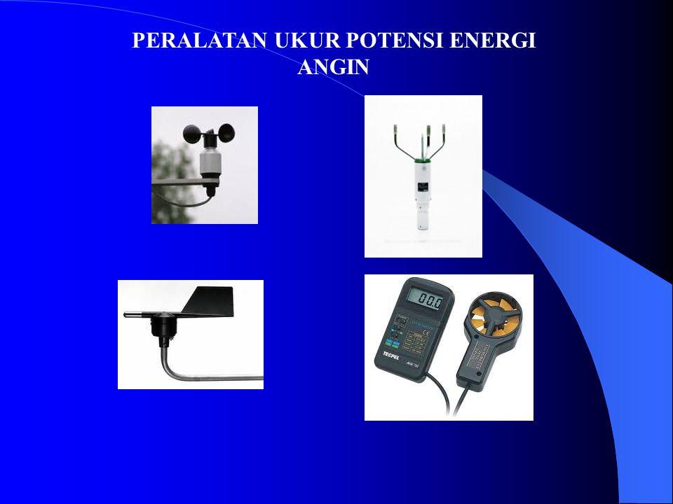 PERALATAN UKUR POTENSI ENERGI ANGIN