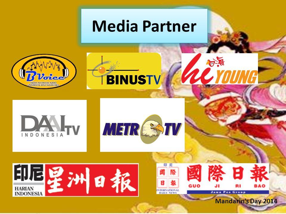 Media Partner Mandarin's Day 2014