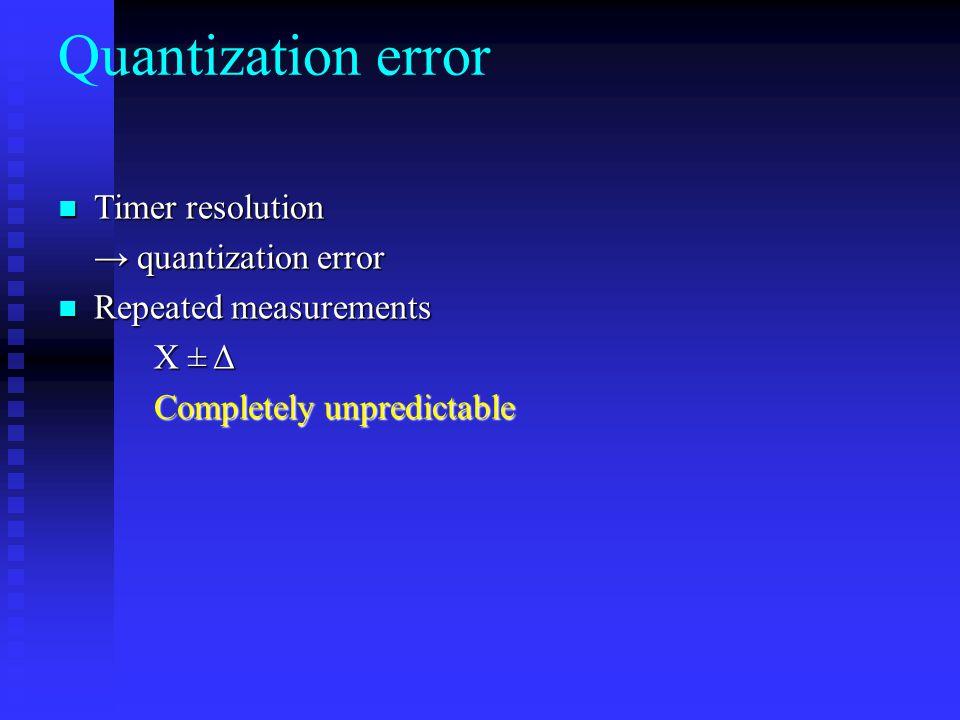 Example: Quantization → Random error 113 14 1