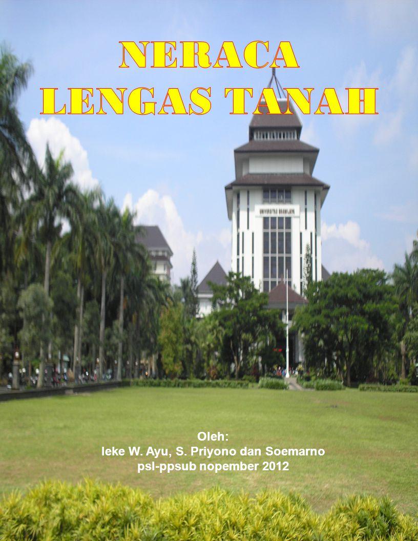 Oleh: Ieke W. Ayu, S. Priyono dan Soemarno psl-ppsub nopember 2012