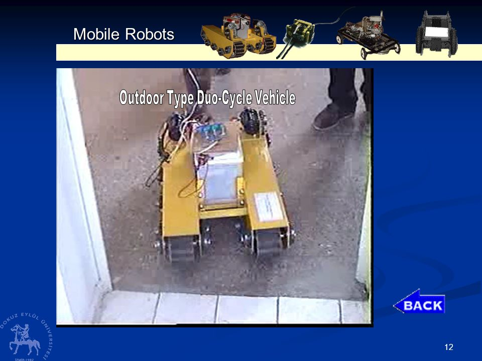 12 Mobile Robots