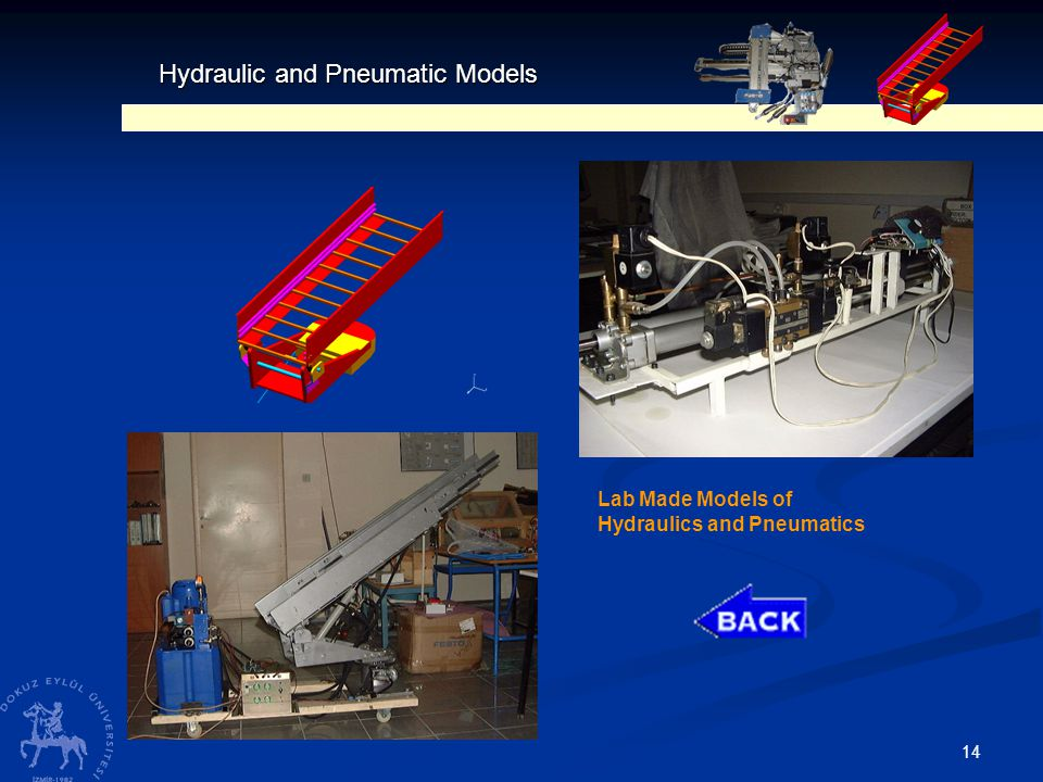 14 Hydraulic and Pneumatic Models Lab Made Models of Hydraulics and Pneumatics