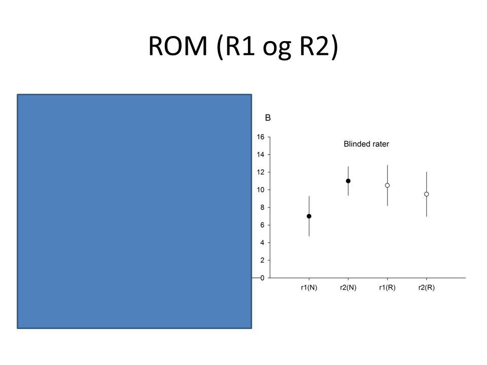 ROM (R1 og R2)