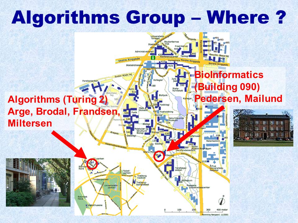 Algorithms Group – Where .