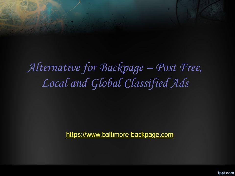 similar sites like backpage