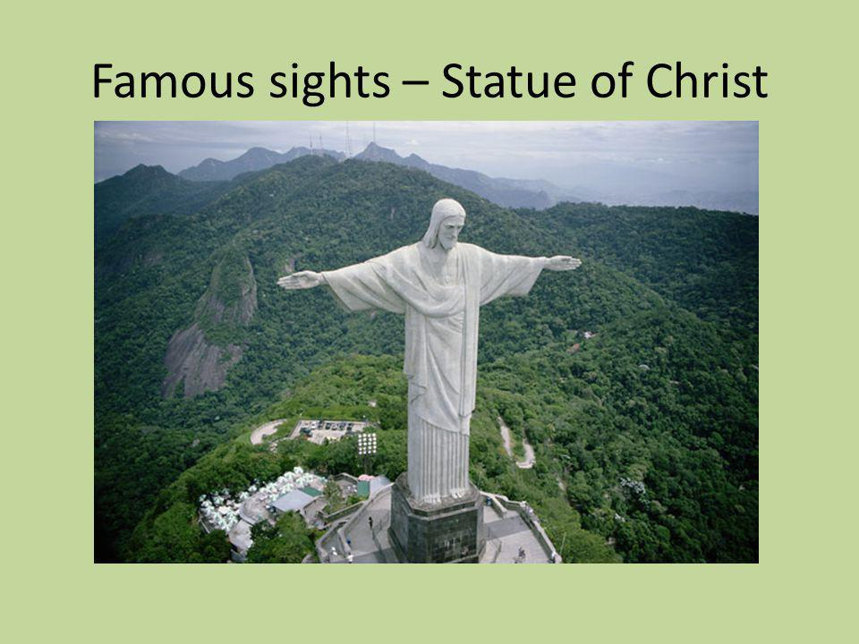 Famous sights – Statue of Christ