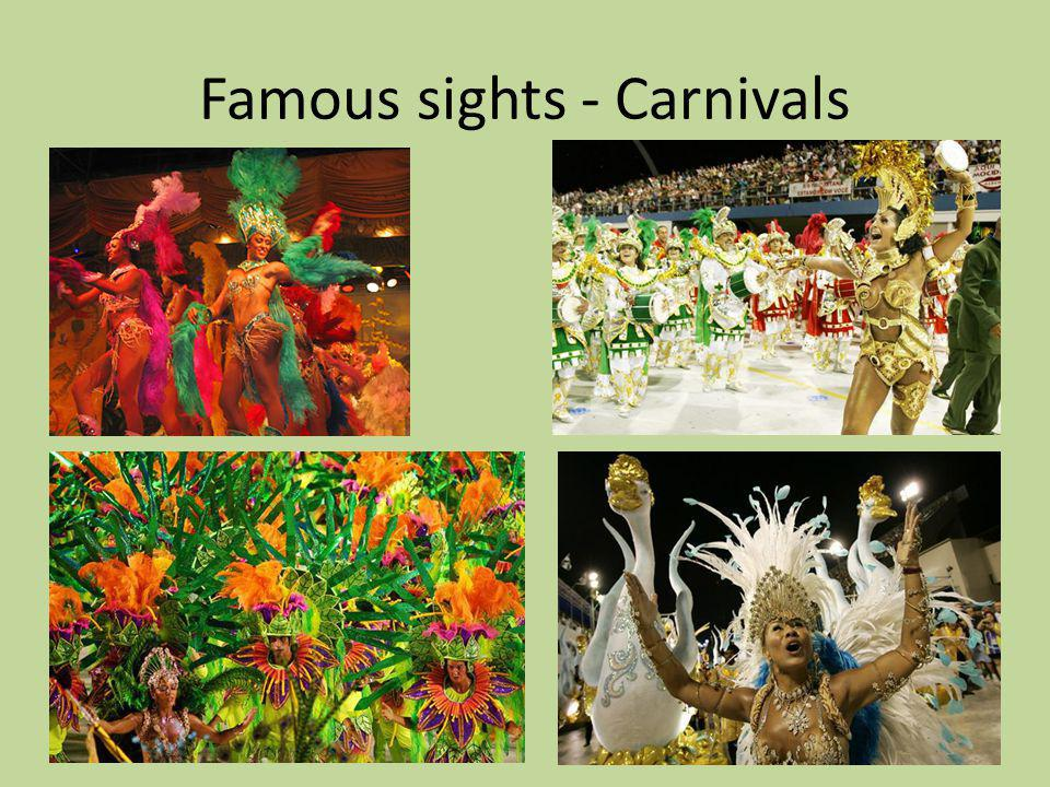Famous sights - Carnivals