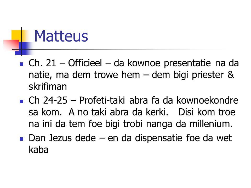 Matteus Ch.
