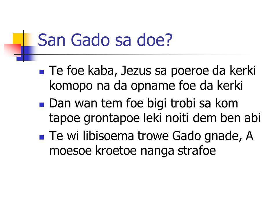 San Gado sa doe.