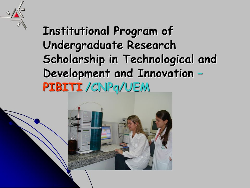 1982 –Research Program for Students (30 anos).1982 –Research Program for Students (30 anos).