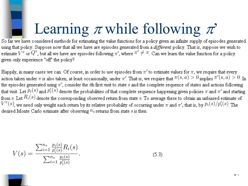 51 Learning  while following  '