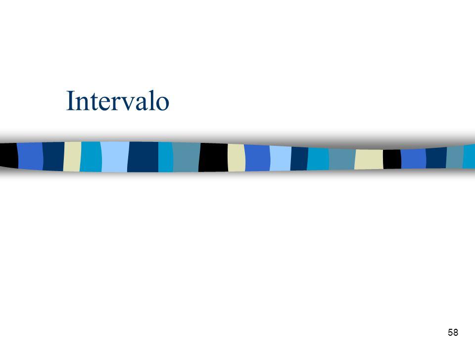 58 Intervalo