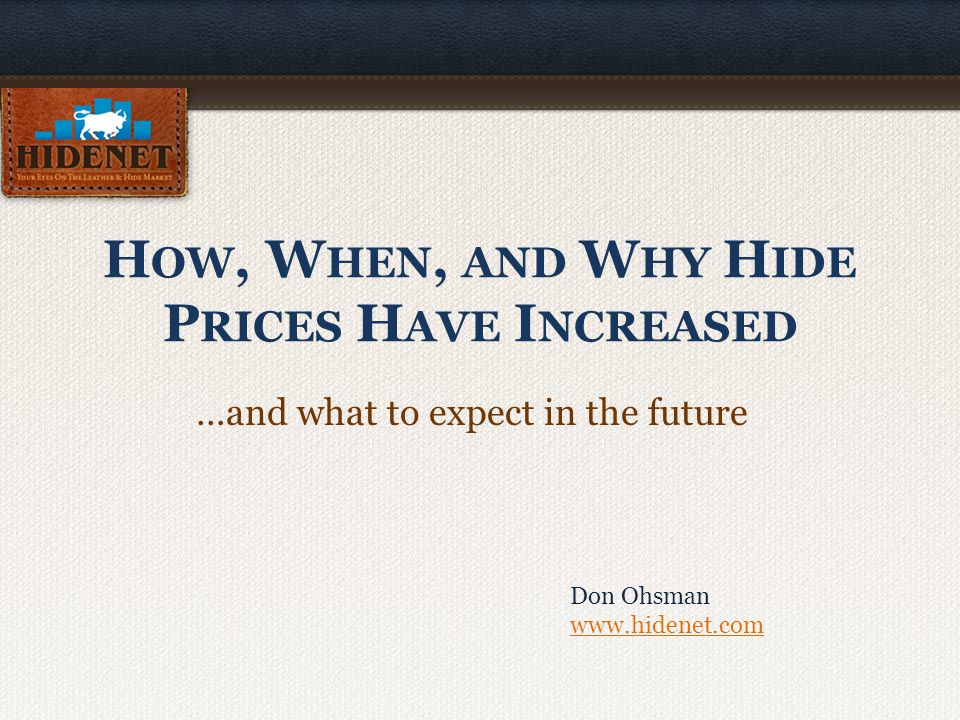 H OW : Supply and Demand Demand increased; supply did not