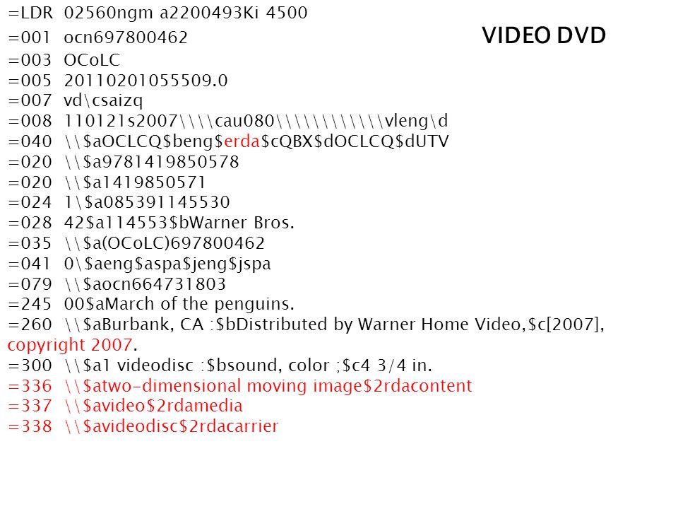 =LDR 02560ngm a2200493Ki 4500 =001 ocn697800462 VIDEO DVD =003 OCoLC =005 20110201055509.0 =007 vd\csaizq =008 110121s2007\\\\cau080\\\\\\\\\\\\vleng\