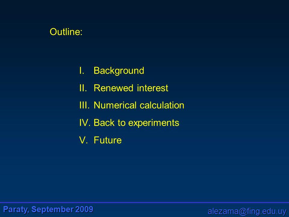 Paraty, September 2009 alezama@fing.edu.uy Total noise Semiclassical Quantum atomic fluctuations