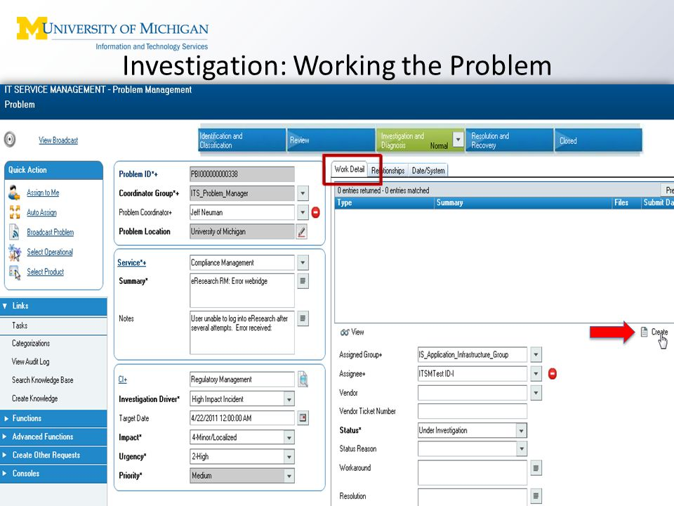 Investigation: Working the Problem