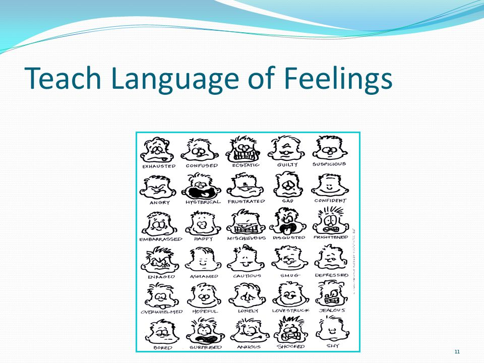 Teach Language of Feelings 11